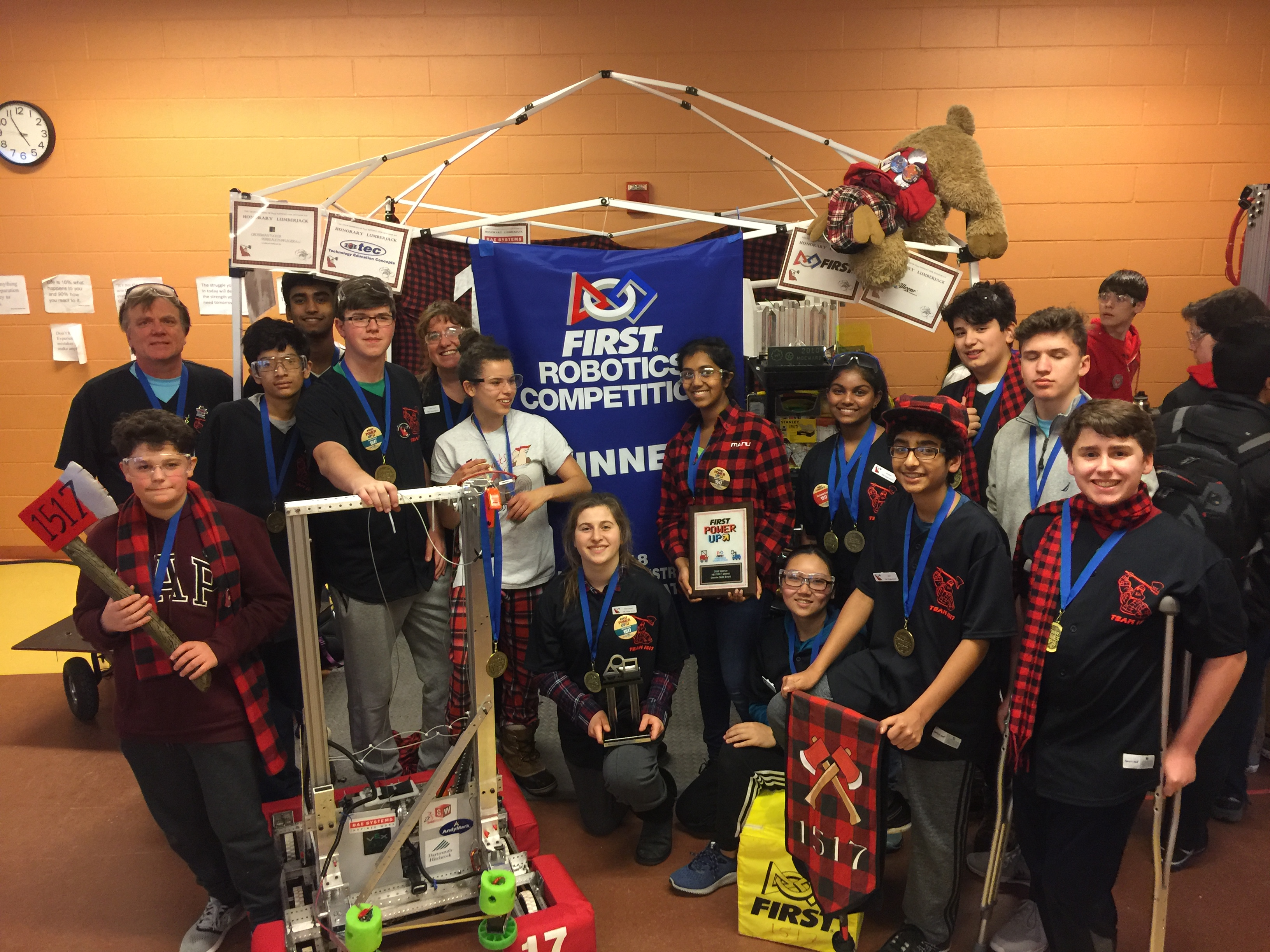Bishop Brady High School Frc Robotics Team 1517 Wins