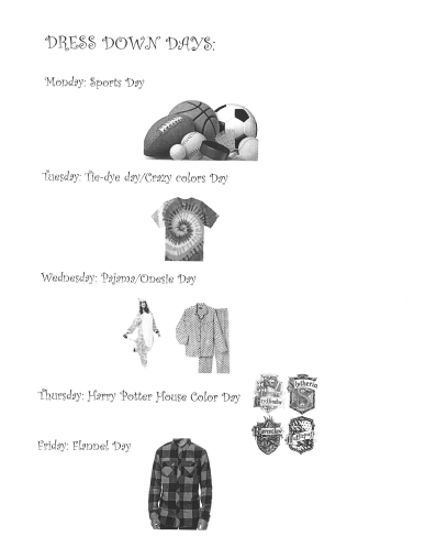 Dress Down Themes for Winter Carnival
