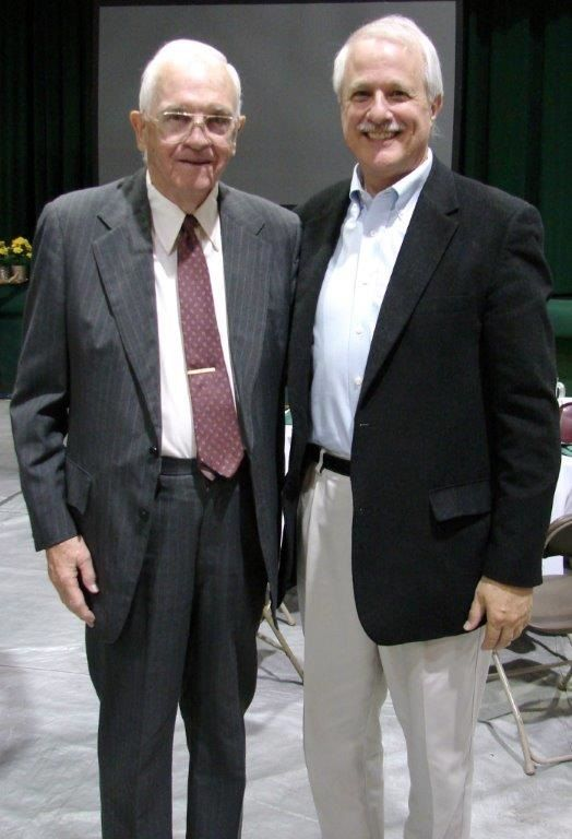Thomas Hardiman '47 and Bill Luti '71