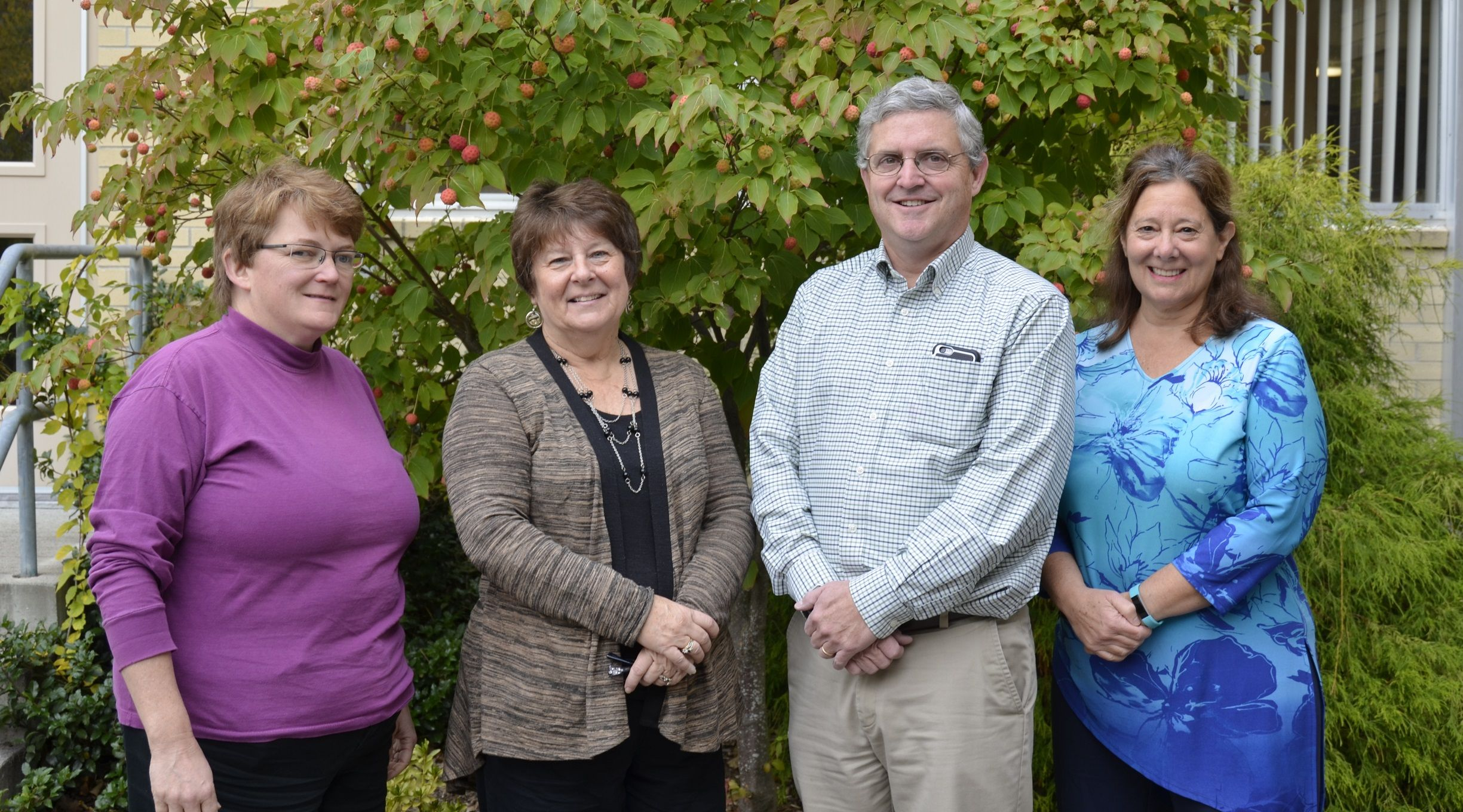 Ms. Patricia J Kernstock, Mrs. Paula Cheney, Mr. Jeff Dailey and Mrs. Alice Giarrusso